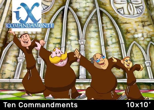 Box I Dieci Comandamenti_ita