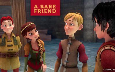 Italy's Gruppo Alcuni unveils an animated series spotlight on rare diseases