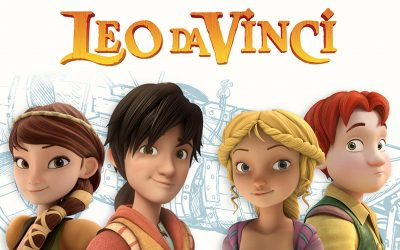 KIKA sceglie la serie animata Leo Da Vinci
