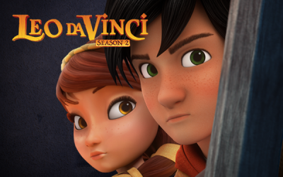 Accordi conclusi per la seconda stagione di Leo Da Vinci
